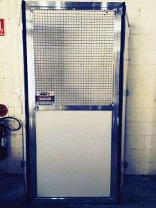 Lift Shaft Safety Protection Gate Rental by Zen Industrial Pty Ltd.