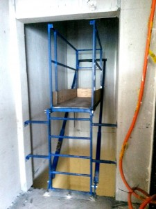 Temporary Access Decks for the Lift Industry by Zen Industrial Pty Ltd
