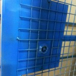 New universal lock that every elevator installer has a key to. Lift Shaft Safety Protection Gates
